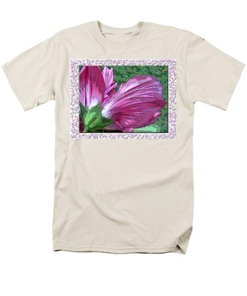 Men's T-Shirt  (Regular Fit) featuring the digital art Fancy Finish by Debbie Portwood