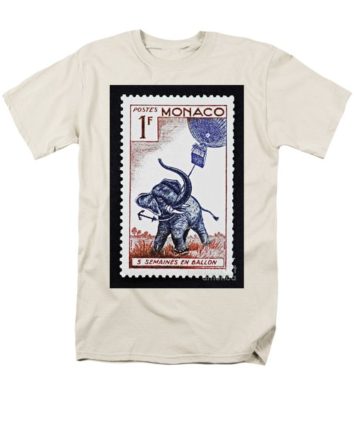 Men's T-Shirt  (Regular Fit) featuring the photograph Five Weeks In A Balloon by Andy Prendy