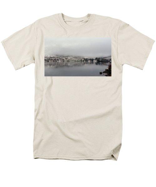 Men's T-Shirt  (Regular Fit) featuring the photograph Fog On The Loch by Lynn Bolt