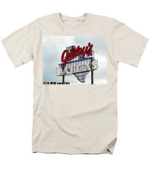 Men's T-Shirt  (Regular Fit) featuring the photograph Gilleys Dallas by Charlie and Norma Brock