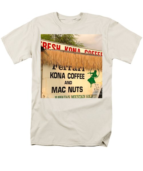 Men's T-Shirt  (Regular Fit) featuring the photograph Hawaiian Food Truck by Beth Saffer