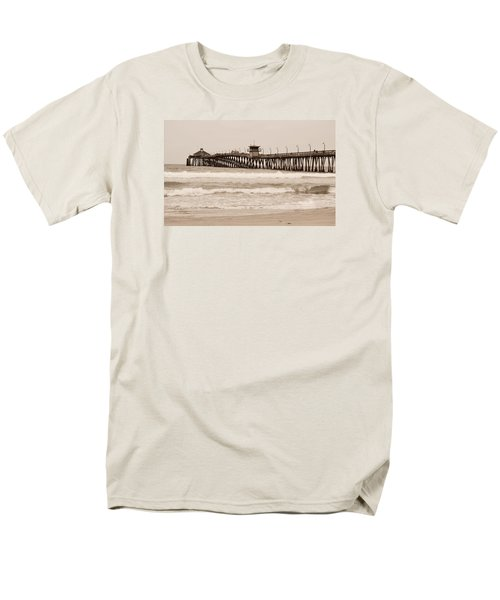 Men's T-Shirt  (Regular Fit) featuring the photograph Imperial Beach by Rima Biswas