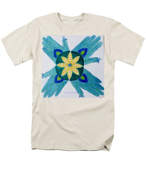Men's T-Shirt  (Regular Fit) featuring the painting Impression by Sonali Gangane