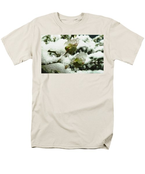 Men's T-Shirt  (Regular Fit) featuring the photograph Liquid Crystal  by Steve Taylor