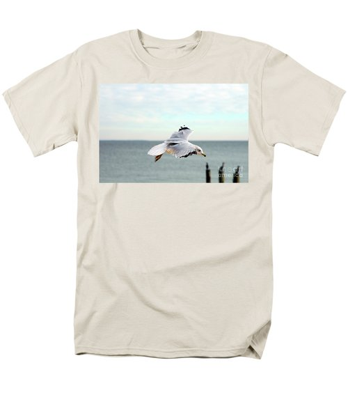 Men's T-Shirt  (Regular Fit) featuring the photograph Looking For Dinner by Clayton Bruster