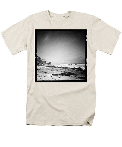Men's T-Shirt  (Regular Fit) featuring the photograph Malibu Peace And Tranquility by Nina Prommer