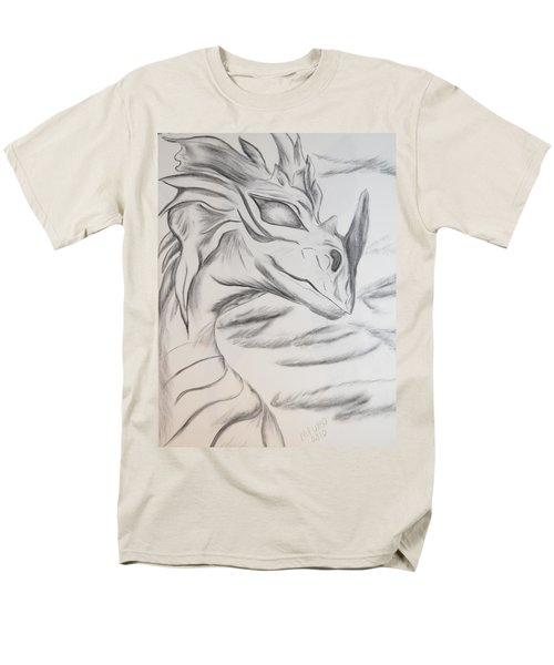 My Dragon Men's T-Shirt  (Regular Fit) by Maria Urso