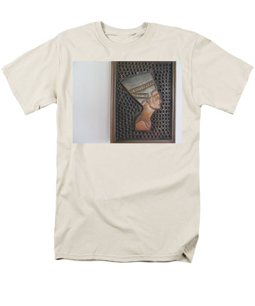 Men's T-Shirt  (Regular Fit) featuring the photograph Nefertiti As Is by Tina M Wenger