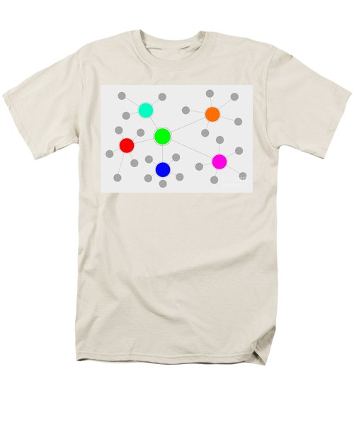 Network Men's T-Shirt  (Regular Fit) by Henrik Lehnerer