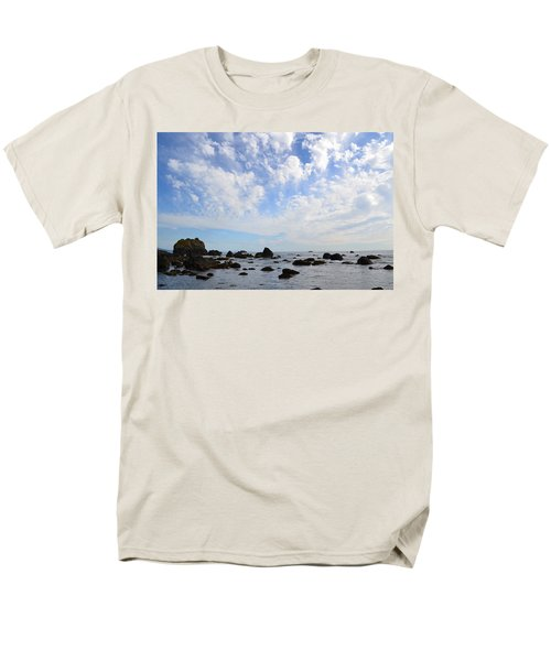 Northern California Coast1 Men's T-Shirt  (Regular Fit) by Zawhaus Photography