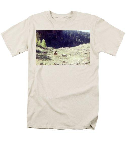 Men's T-Shirt  (Regular Fit) featuring the photograph Open Range by Bonfire Photography