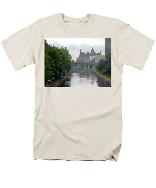 Ottawa Rideau Canal Men's T-Shirt  (Regular Fit) by Valentino Visentini