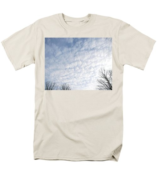 Men's T-Shirt  (Regular Fit) featuring the photograph Reaching The Clouds by Pamela Hyde Wilson