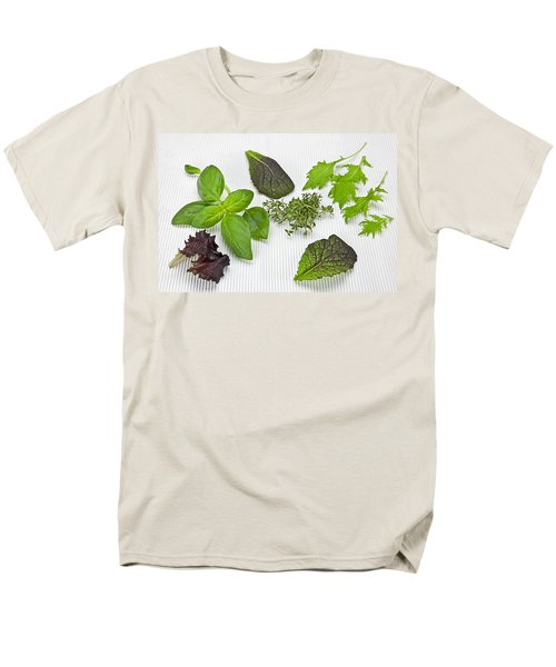 Salad Greens And Spices Men's T-Shirt  (Regular Fit) by Joana Kruse