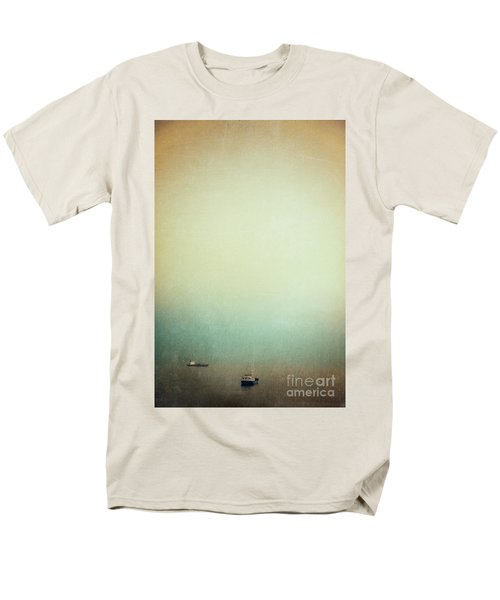 Solitary Ships Men's T-Shirt  (Regular Fit) by Silvia Ganora