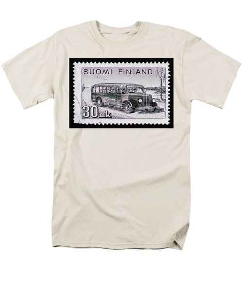 Men's T-Shirt  (Regular Fit) featuring the photograph Speedy Old Bus by Andy Prendy