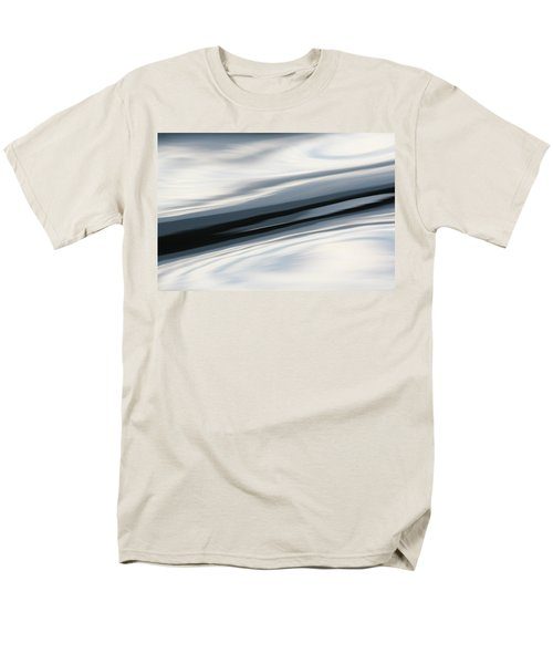 Streak Of Blue Men's T-Shirt  (Regular Fit) by Cathie Douglas