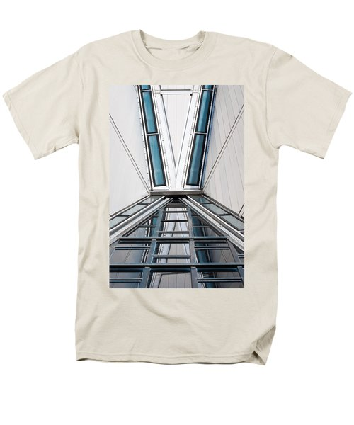 Structure Reflections Men's T-Shirt  (Regular Fit) by Colleen Coccia