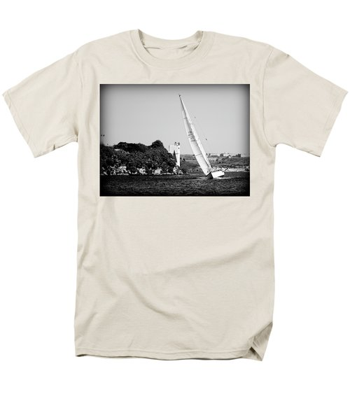 Men's T-Shirt  (Regular Fit) featuring the photograph Tall Ship Race 1 by Pedro Cardona