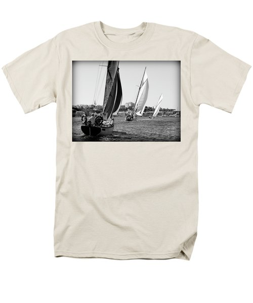 Men's T-Shirt  (Regular Fit) featuring the photograph Tall Ship Races 2 by Pedro Cardona