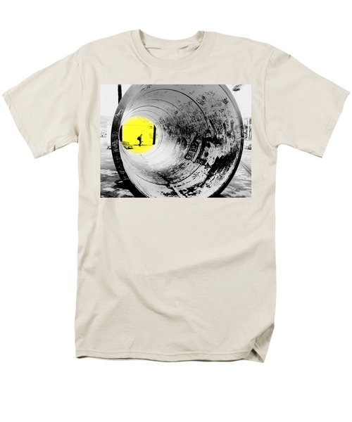 The Light At The End Of The Tunnel Men's T-Shirt  (Regular Fit) by Valentino Visentini