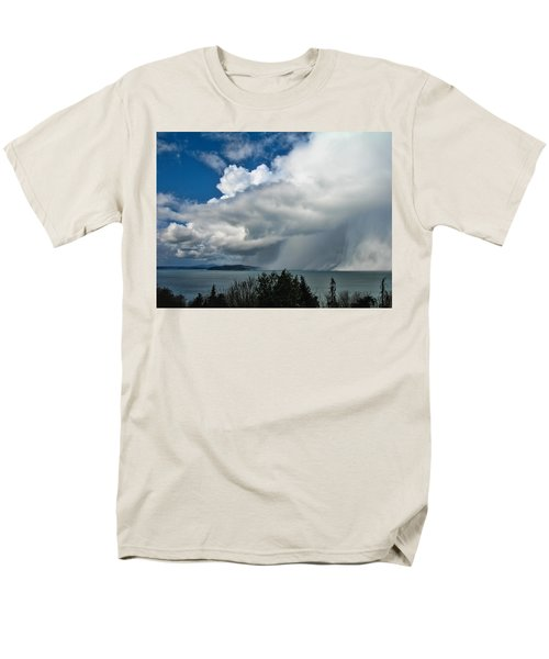 Men's T-Shirt  (Regular Fit) featuring the photograph The Wall by David Gleeson