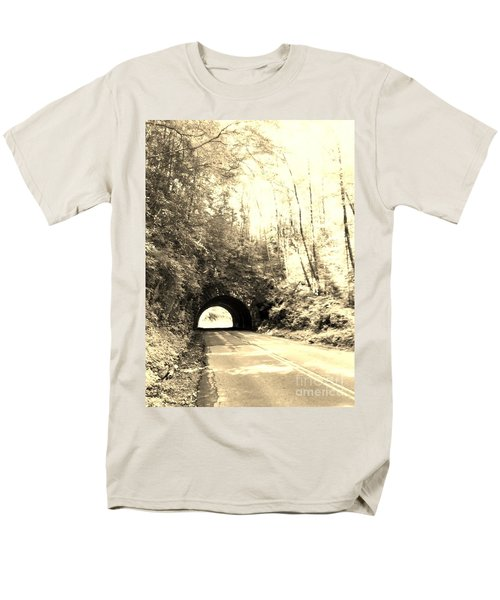 Tunnel Vision Men's T-Shirt  (Regular Fit) by Janice Spivey