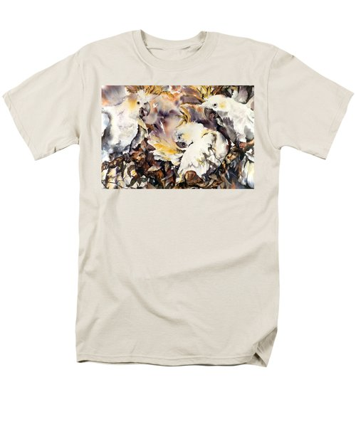 Men's T-Shirt  (Regular Fit) featuring the painting Two's Company by Rae Andrews