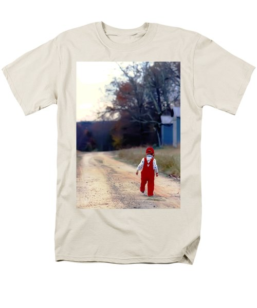 Walking On Pawpaw's Road Men's T-Shirt  (Regular Fit) by KG Thienemann