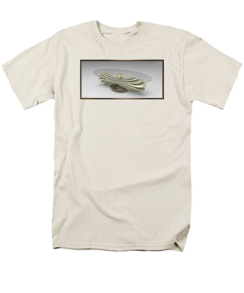 ' A Distorted Spring Table ' Men's T-Shirt  (Regular Fit)