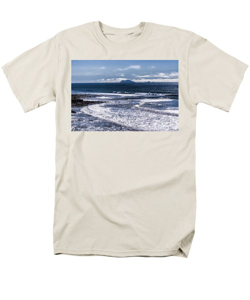 Men's T-Shirt  (Regular Fit) featuring the photograph  Point Loma And Islos Los Coronados by Daniel Hebard