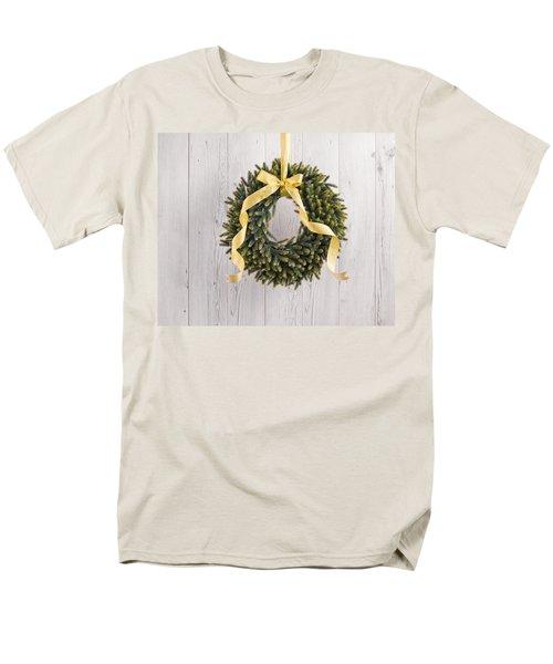 Men's T-Shirt  (Regular Fit) featuring the photograph Advents Wreath by Ulrich Schade