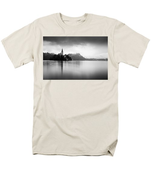 After The Rain At Lake Bled Men's T-Shirt  (Regular Fit)