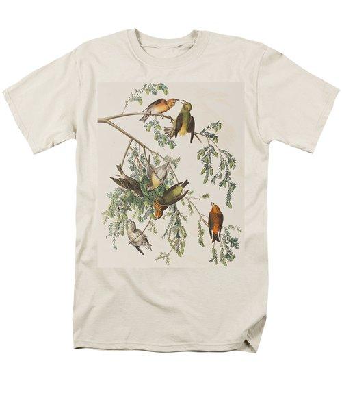 American Crossbill Men's T-Shirt  (Regular Fit) by John James Audubon