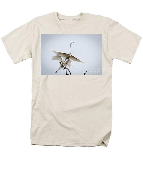 Ballet In The Sky Men's T-Shirt  (Regular Fit)
