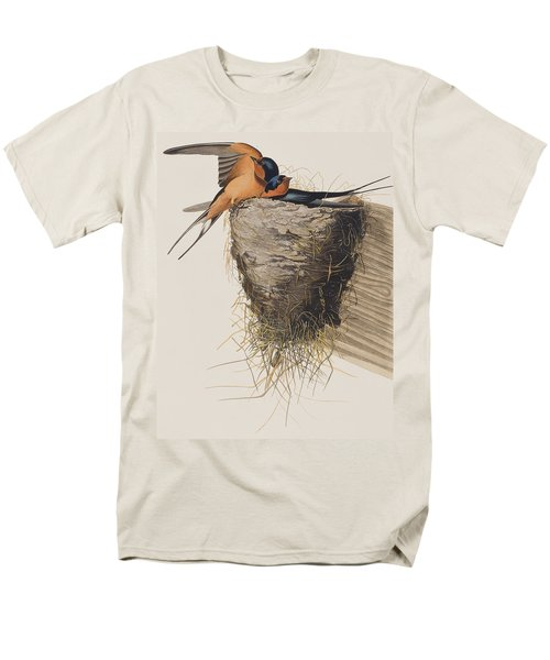 Barn Swallow Men's T-Shirt  (Regular Fit) by John James Audubon