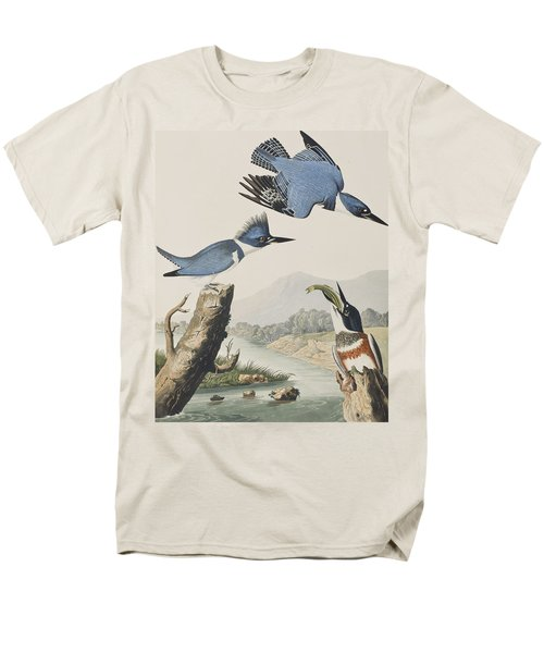 Belted Kingfisher Men's T-Shirt  (Regular Fit)