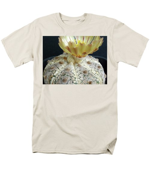 Cactus Flower 1 Men's T-Shirt  (Regular Fit) by Selena Boron