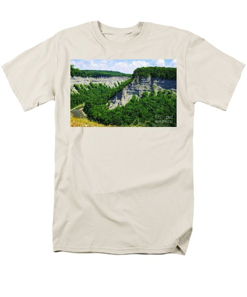 Men's T-Shirt  (Regular Fit) featuring the photograph Canyon  by Raymond Earley
