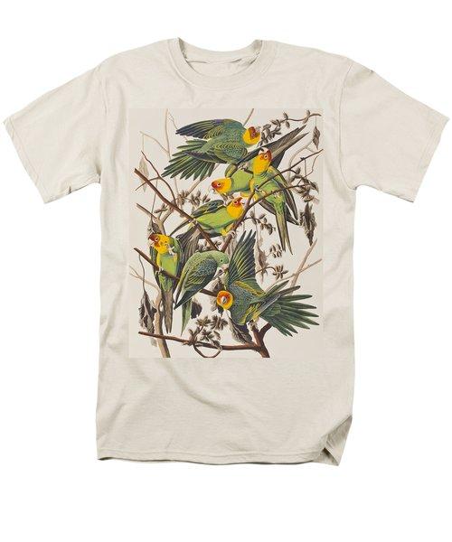 Carolina Parrot Men's T-Shirt  (Regular Fit) by John James Audubon