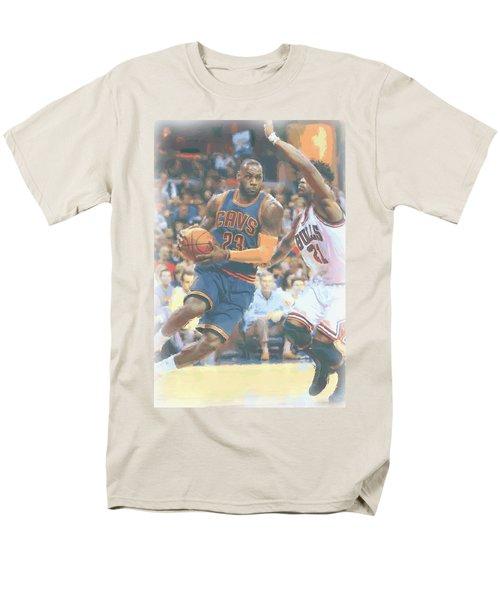 Cleveland Cavaliers Lebron James 2 Men's T-Shirt  (Regular Fit) by Joe Hamilton