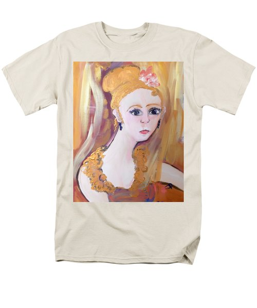 Deep In Thought  Men's T-Shirt  (Regular Fit) by Judith Desrosiers