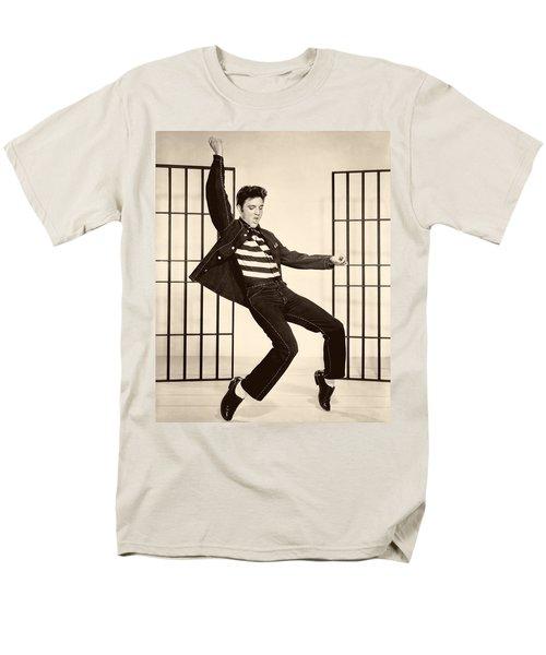 Elvis Presley In Jailhouse Rock 1957 Men's T-Shirt  (Regular Fit)