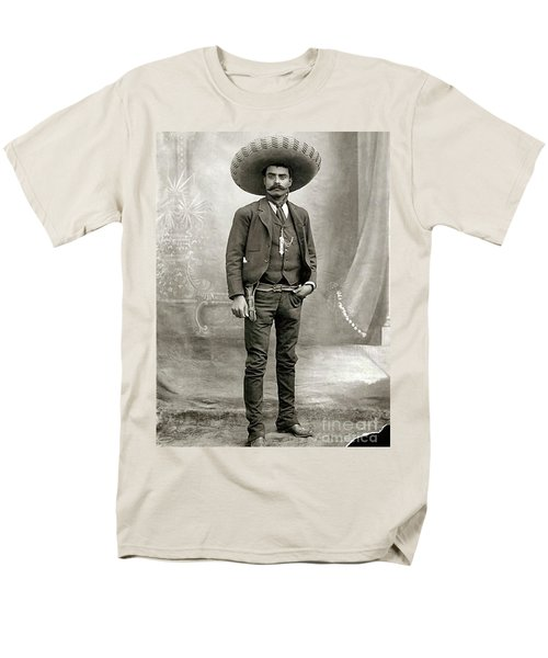Men's T-Shirt  (Regular Fit) featuring the photograph Emiliano Zapata by Pg Reproductions
