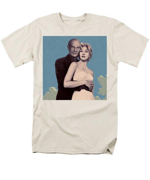 Fantomas 1965 - Left Panel Men's T-Shirt  (Regular Fit) by Udo Linke