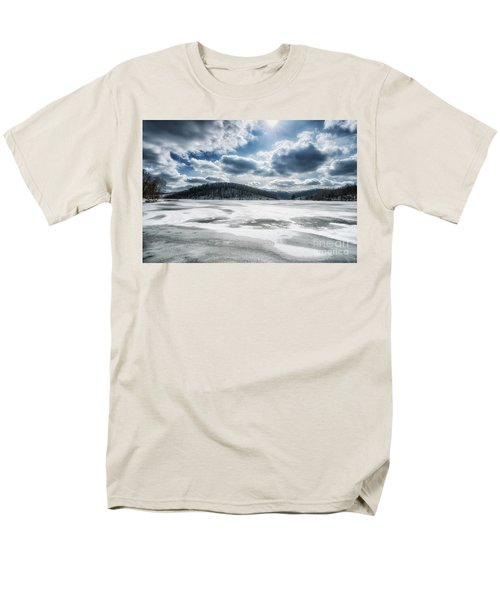 Frozen Lake Men's T-Shirt  (Regular Fit) by Thomas R Fletcher