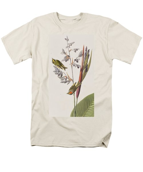 Golden-crested Wren Men's T-Shirt  (Regular Fit) by John James Audubon