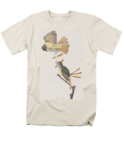 Great Crested Flycatcher Men's T-Shirt  (Regular Fit) by John James Audubon