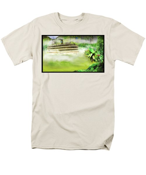 Men's T-Shirt  (Regular Fit) featuring the drawing Heart Of Darkness by Michael Cleere