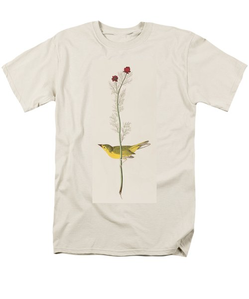 Hooded Warbler Men's T-Shirt  (Regular Fit)